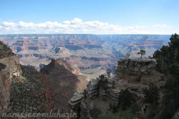 Grand Canyon - primeiras vistas