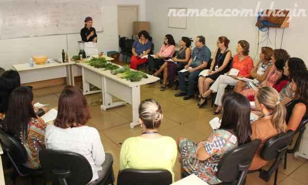 Oficina de Ervas Aromáticas no TRE-RJ - Foto Juliana Henning
