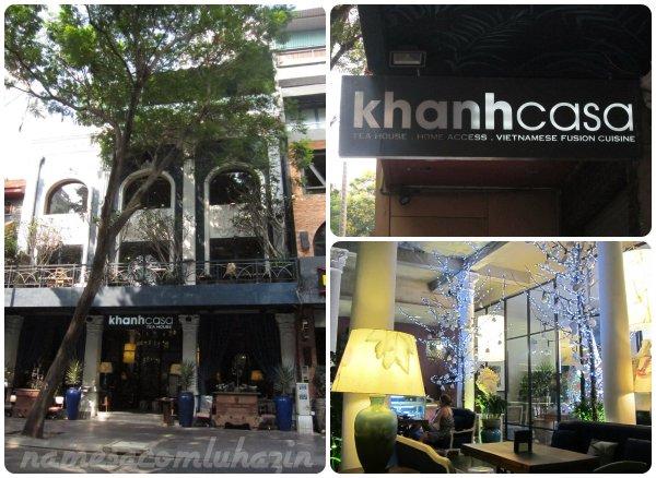 Restaurante Khanhcasa na antiga rua Catrina
