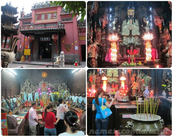 Templo do Imperador de Jade, em Ho Chi Minh
