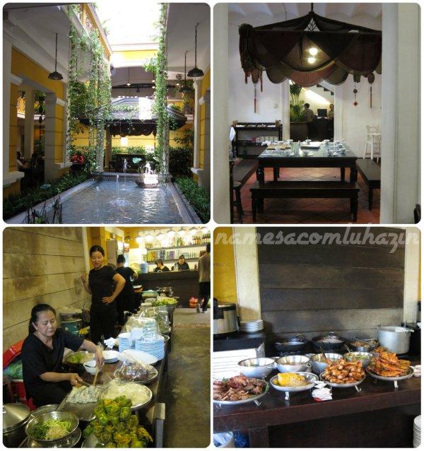 Restaurante Ngon, em Ho Chi Minh