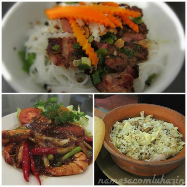 Nossos pratos no Ngon