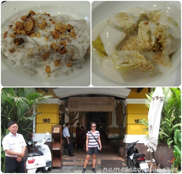 Nossas deliciosas sobremesas e a porta de entrada do restaurante