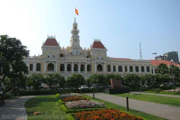 Prédio da prefeitura de Ho Chi Minh