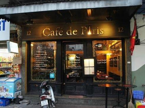 Restaurante Café de Paris, em Hanói