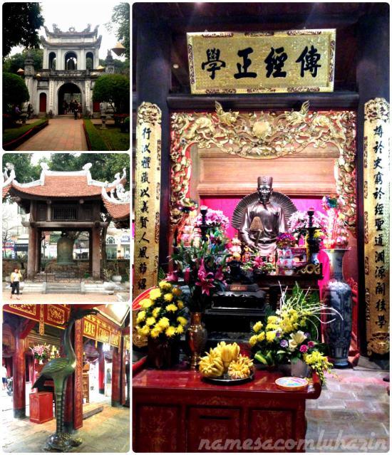 Templo da Literatura, em Hanói