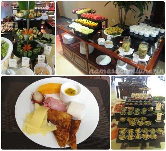 Café da manhã do Essence Hotel $ Spa em Hoi An