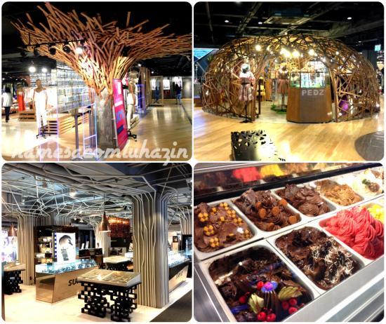 O Siam Paragon é belíssimo, lojas super modernas